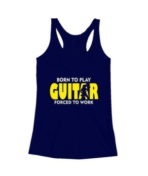 BORN TO PLAY GUITAR, Women's Tank Top