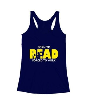 BORN TO READ, Women's Tank Top