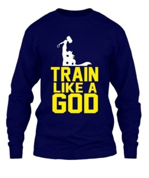 Train like a god, Men's Round T-shirt