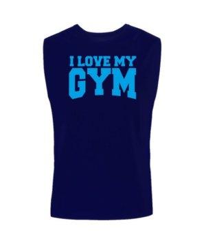 I love my gym, Men's Sleeveless T-shirt