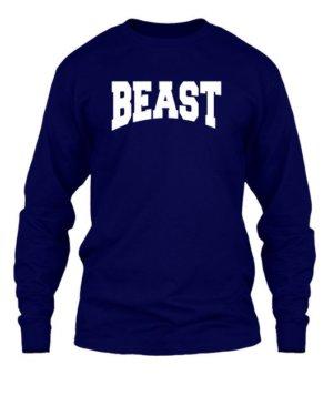 BEAST, Men's Long Sleeves T-shirt