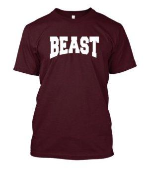 BEAST, Men's Round T-shirt