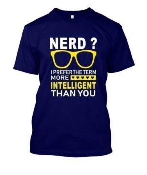 Nerd, Men's Round T-shirt