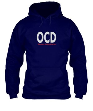 Obsessive coding disorder, Men's Hoodies