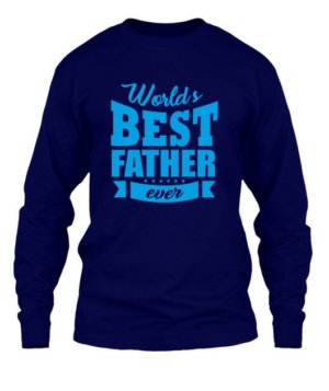 World's best father, Men's Round T-shirt