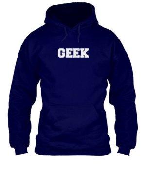 GEEK, Men's Hoodies