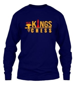 real kings of chess , Men's Long Sleeves T-shirt